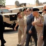 السيسى يفتتح أعمال تطوير أحدث مصانع القوات المسلحة