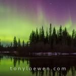سماء كندا الساحرة