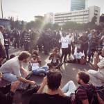 مظاهرات حاشدة لليهود السود فى تل أبيب