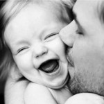 الأب والأبنة