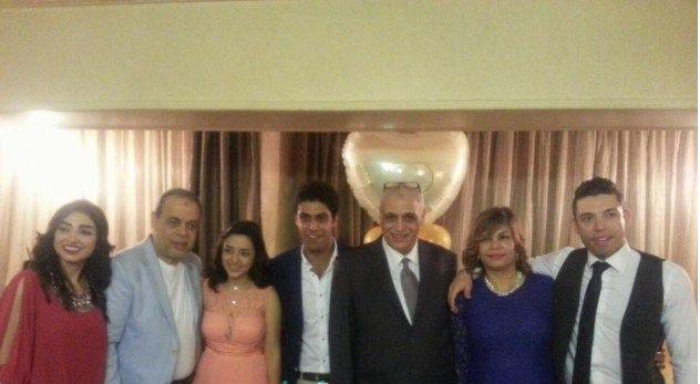 حفل خطوبة ابنة روجينا