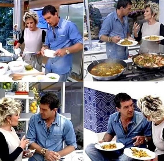 أنطونيو بانديراس ومتعة الأكل الإسباني