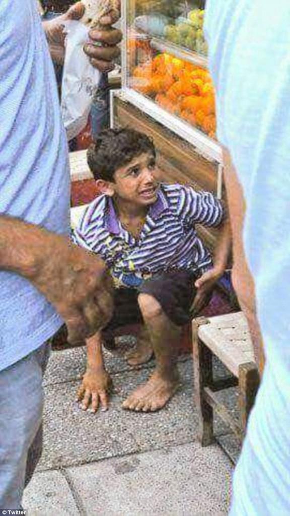 الطفل السورى