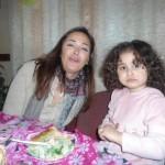 الفنانة-المصرية-داليا-البحيري-وابنتها