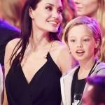 الممثلة-أنجيلينا-جولي-وابنتها
