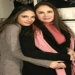 الممثلة-شيرين-وابنتها