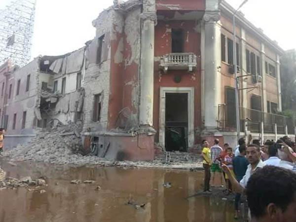 انفجار القنصلية الايطالية