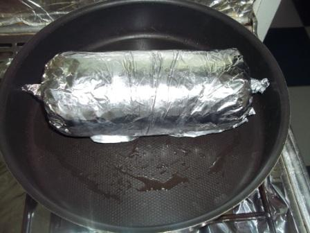 تغليف الطعام بورق الألومنيوم