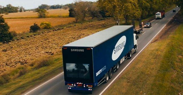 شاحنة سامسونج