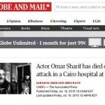 صور-نبأ-وفاة-عمر-الشريف-يتصدر-مواقع-الصحافة-العالمية-وداعاً-لورانس-العرب-ودكتور-زيفاجو-1275661