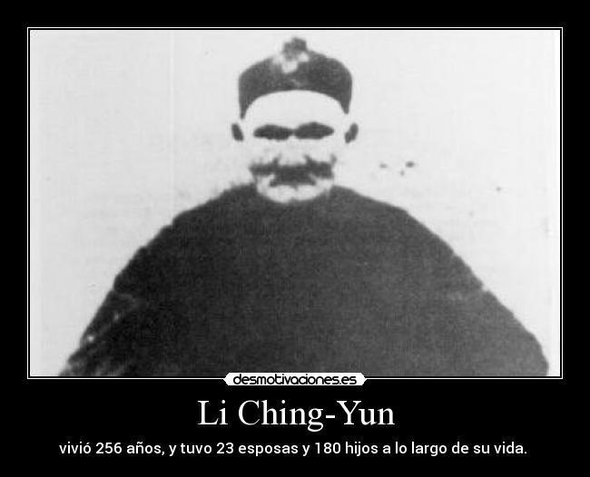 لى تشينج يون