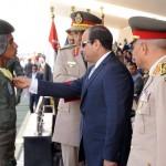 السيسى يشهد الإحتفال بتخريج الدفعتين 82 طيران وعلوم عسكرية جوية