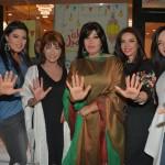 النجوم فى حفل افطار ممدوح شاهين
