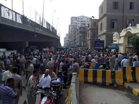 احتجاج امناء شرطة الشرقية