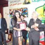 تكريم راقصة بورسعيد