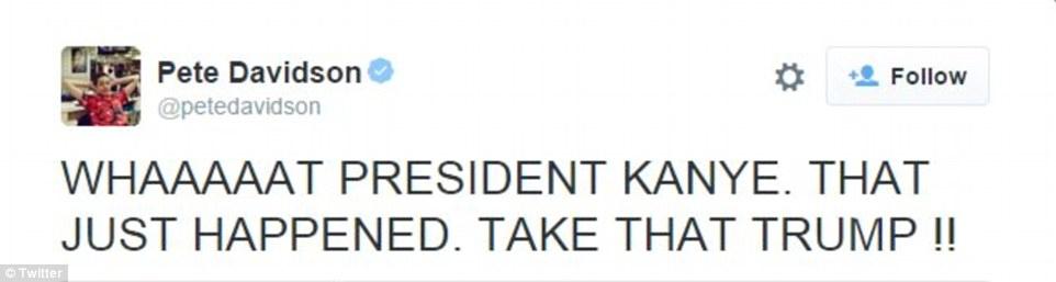 تويتات ترشح ويست للرئاسة  4