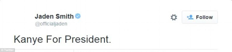 تويتات ترشح ويست للرئاسة