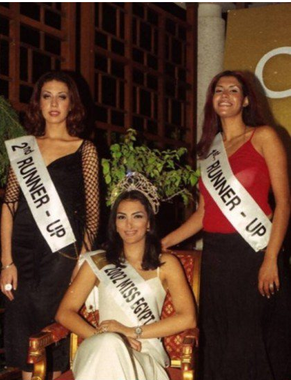 حورية فرغلى ملكة جمال مصر 2002