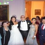 زفاف انجى عبد الله والقائم بالاعمال التركى