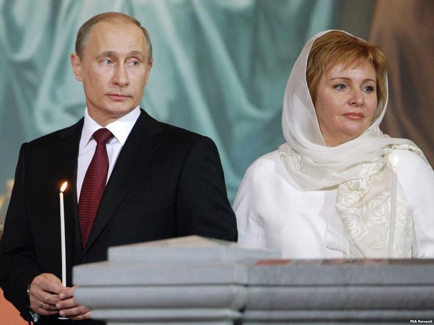 زوجة بوتين