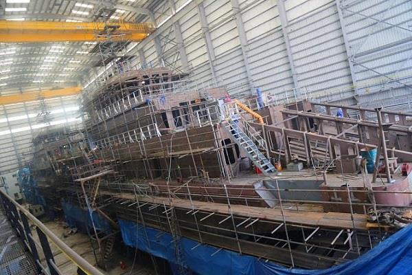 سفينة الزور 10 وقت بنائها
