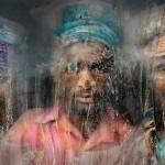 عمال الحصى فى بنجلاديش