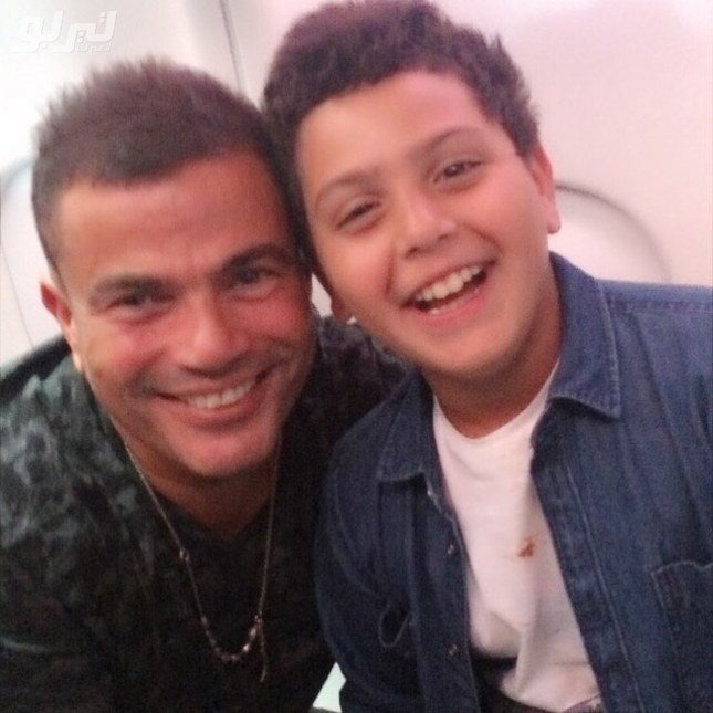 عمرو دياب مع ابن هنيدى