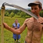 مزارع بولندى وزوجته