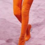 موضة البرتقالى