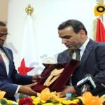 توقيع اتفاقية التعاون الثقافى بين مصر وجيبوتى