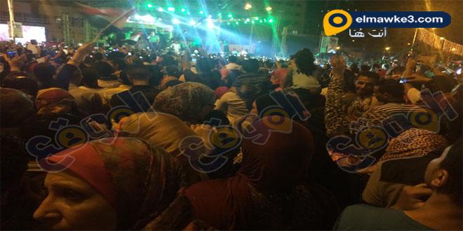 إيهاب توفيق يحيى الاحتفالية الكبرى لقناة السويس الجديدة ببورسعيد