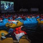 لسينما فى قوارب