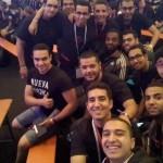 هندسة القاهرة تفوز بجائزة most challenging team
