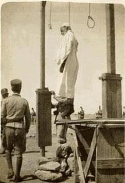 إعدام عمر المختار