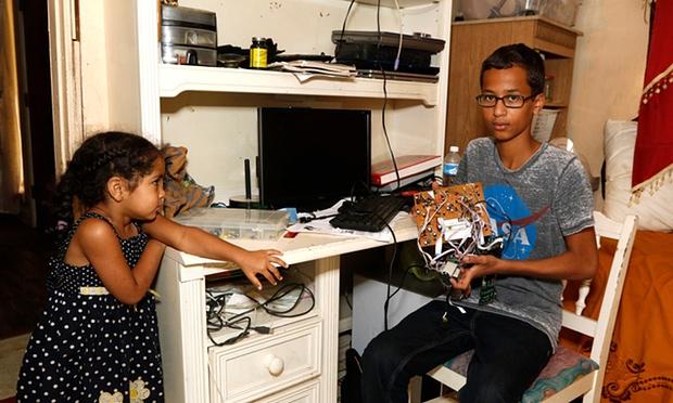 احمد و اختراعه