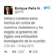 تويتة الرئيس المكسيكى