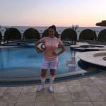 صافيناز لاعبة كرة قدم