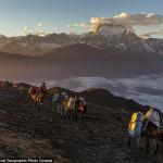 صورة لمتسلقى جبال الهيمالايا فى نيبال
