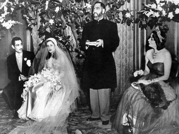 زفاف الأميرة فتحية أخت الملك فاروق من رياض غالى