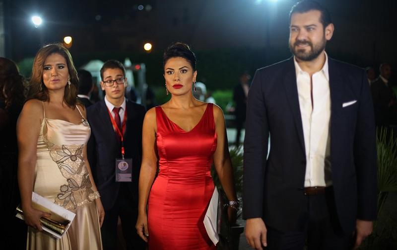 فساتين النجمات فى ختام مهرجان الأسكندرية السينمائى