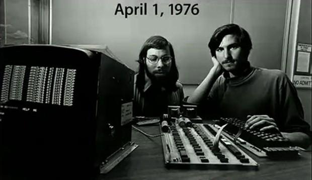 مؤسسا أبل عام 1976