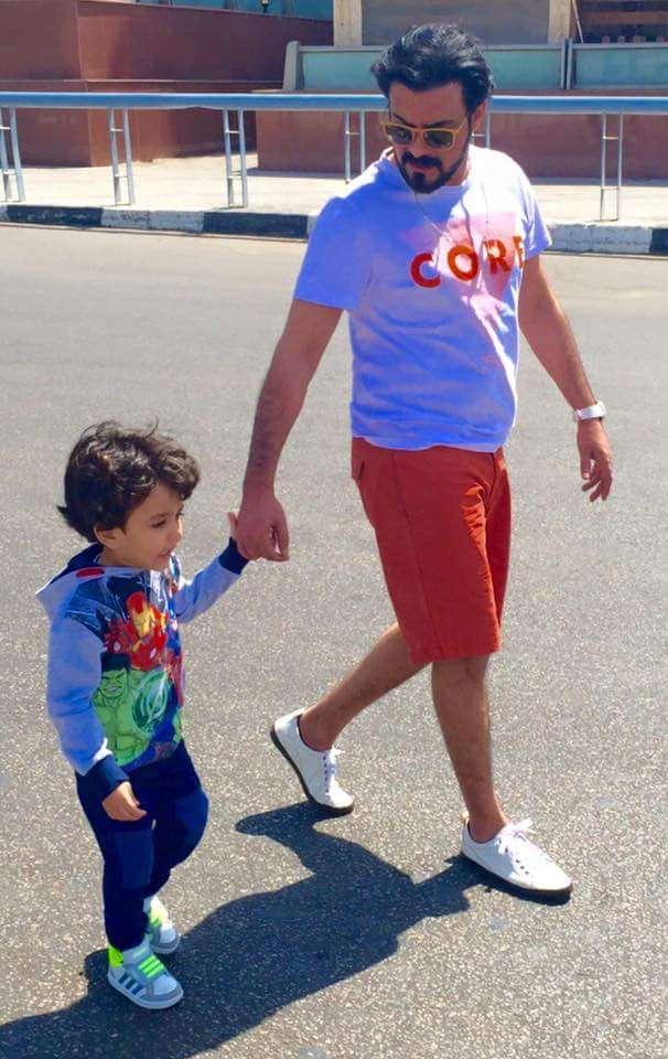 محمد رجب وابنة