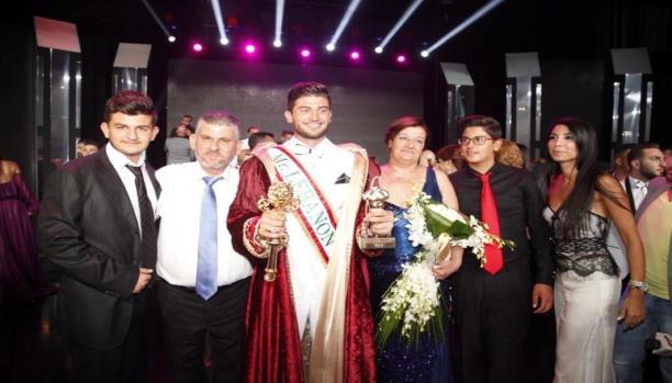 ملك جمال لبنان بين افراد عائلته