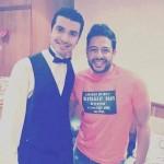 محمد حماقى فى مسرح مصر