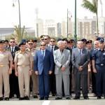 السيسى يتقدم جنازة اللواء أمين حسين مساعد وزير الدفاع