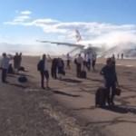 حريق الطائرة البريطانية