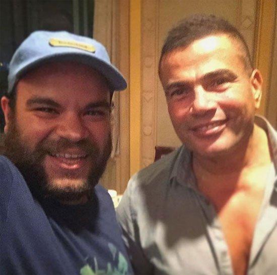 نجوم برنامج مسرح مصر مع عمرو دياب