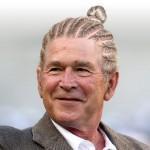 الرئيس الامريكى السابق جورج بوش