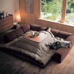 السرير اليابانى المذهل