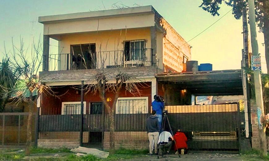 المنزل الذى وقعت فيه الجريمة